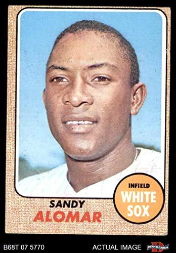 1968 Topps # 541 Sandy Alomar Chicago White Sox (Baseball Card) Dean's Cards 3 - VG White Sox