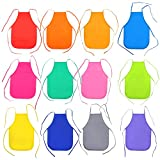 24Pcs Children's Artists Aprons Set for School,Home,Kitchen,Crafts,Painting Activity
