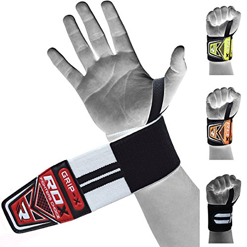 Rdx Weight Lifting Gloves Training Bodybuilding Gym Power: RDX Weight Lifting Wrist Wraps Gym Straps Crossfit Bands