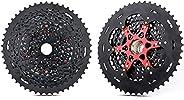 Bike Freewheel Cycling Speed Cassette Sprocket Teeth 12 Speed Cassette 9-50t Compatible with Xd Black