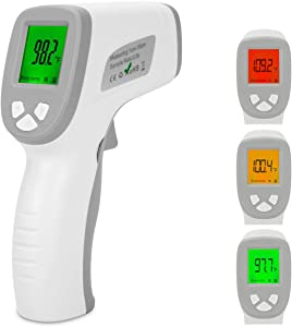 OlangdaForehead Thermometer, Non-Contact Infrared Digital Thermometer for Fever