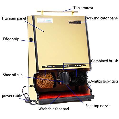 Qi Peng Shoe Polisher-Automatic Induction Shoe Polisher, Household Electric Shoe Polisher/Hotel Business Shoe Polisher Automatic Shoe Polisher (Color : G, Size : 1#) by Qi Peng-/Automatic shoe polisher (Image #2)