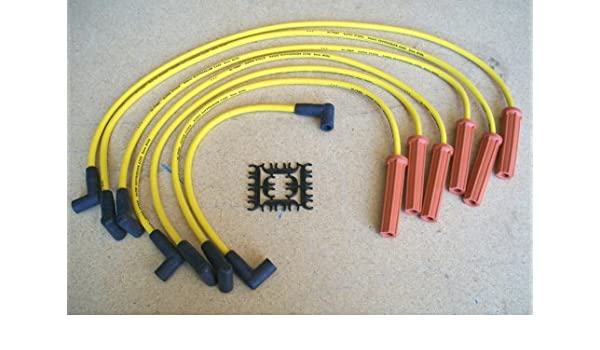 Amazon.com: Accel Spark Plug Wires Set 4062- 8 mm Yellow ... on