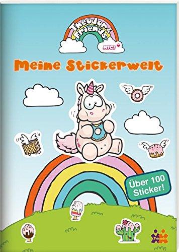 Theodor & Friends Meine Stickerwelt - über 100 Einhorn Sticker
