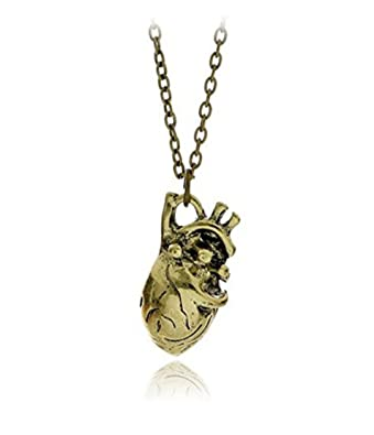 Buy Antique Gold Plated Anatomical 3d Human Heart Organ Anatomy