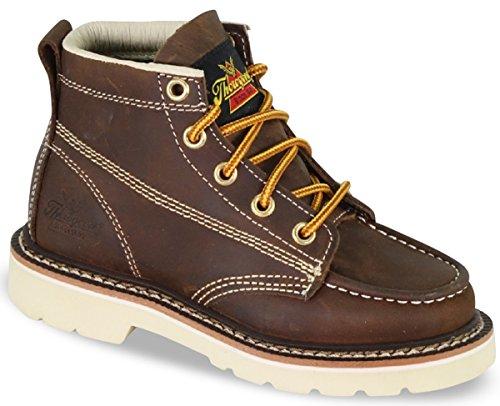 Thorogood 314-4100 Kids' Jackson - Moc Toe Boot, Mud Pie Brown - 12 Child US Little Kid ()