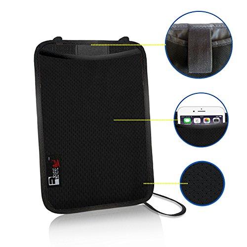 RFID Neck Pouch Passport Wallet Traveler Safe Money Holder iPhone Phone Stash by Revere Sport (Image #3)