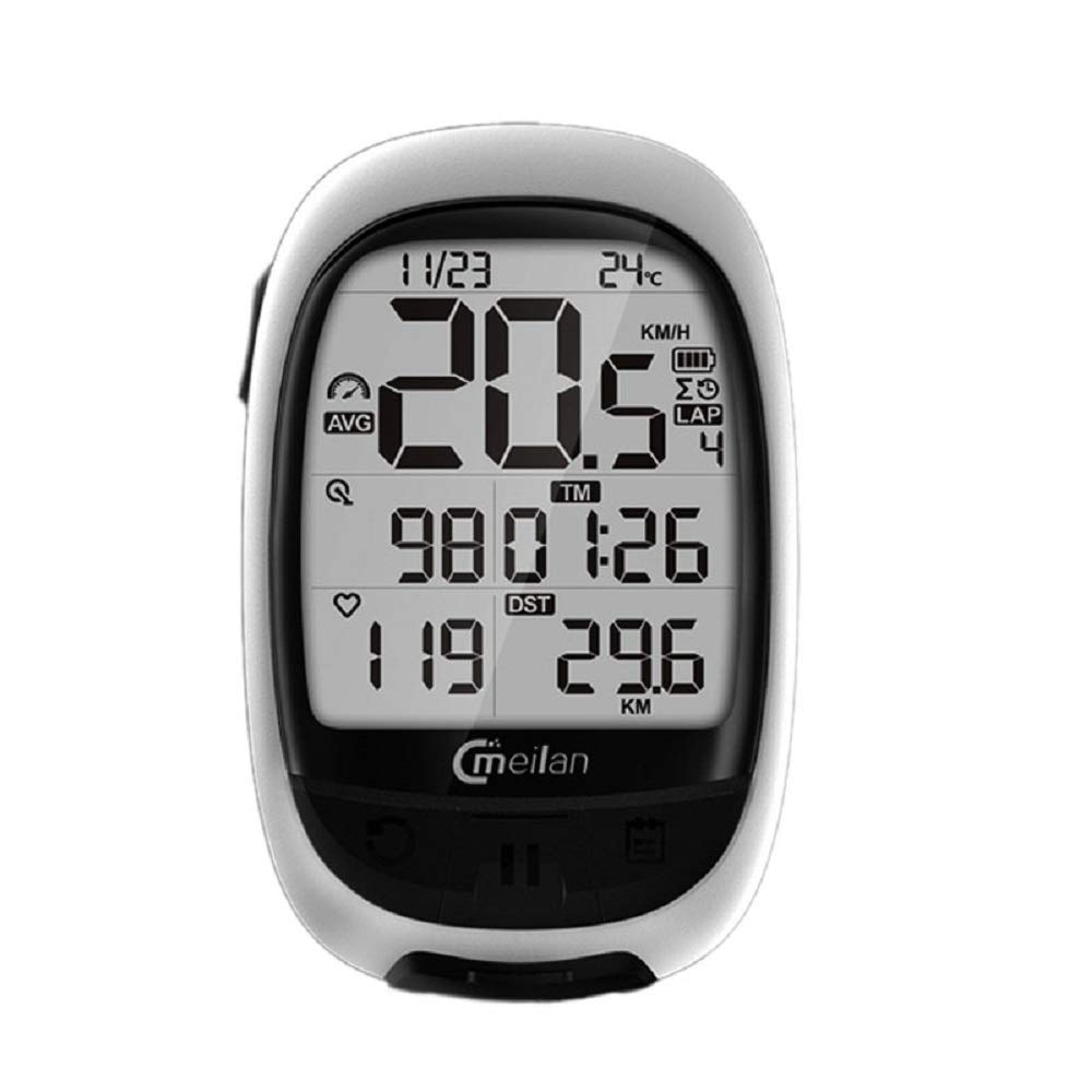 A TGX Meilan M2 Bike GPS Navigation blueeetooth ANT+ Cycling Computer Support Connect with Cadence Heart Rate Power Meter(not Include)