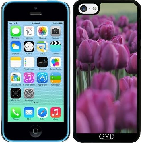 Coque pour Iphone 5c - Fleur Tulipe Fleur Paysage by WonderfulDreamPicture