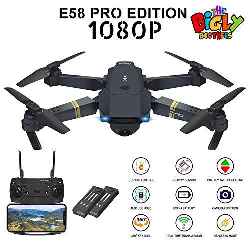 E58 PRO Edition 1080p Drone with Camera 120 Wide Angle