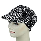 Summer Turbans For Chemo Women Newsboy Cap Breast Cancer Bald Scalp Headwear