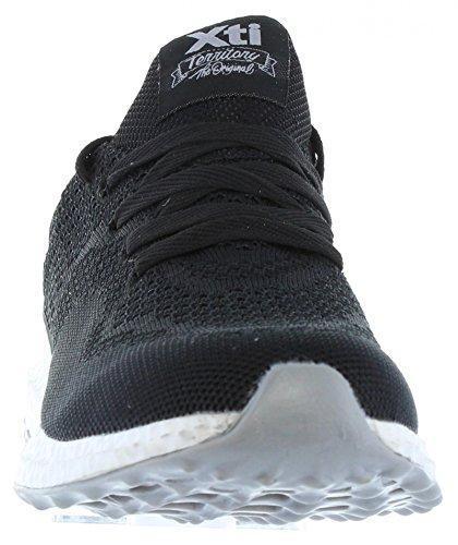 Zapatillas deporte de Hombre XTI 47013 NYLON NEGRO