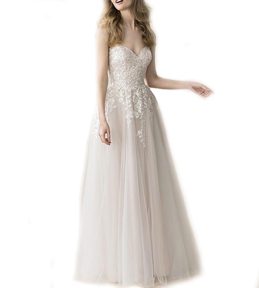Weddingdazzle Sweetheart Boho Wedding Dresses Plus Size For Women