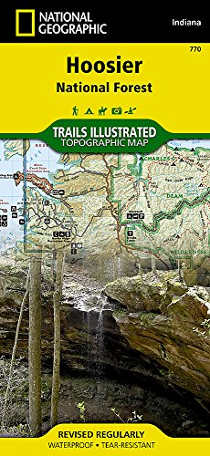 Hoosier National Forest (National Geographic Trails Illustrated Map (770))