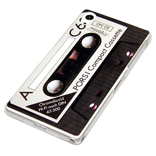 Sony Xperia Z2 Diseño con carcasa de silicona con diseño de casete