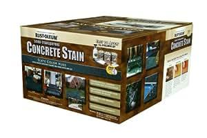 Rust-Oleum 239412A Concrete Stains Kit, Slate Color Hues