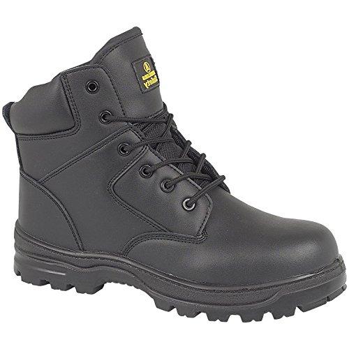 Amblers Steel FS006C Mens Metal Free Safety Work Boots FS006C Black