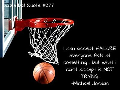 Michael Jordan Quote - Failure is key to success - Motivational Poster Paper 12X18 INCH By A-ONE POSTERS