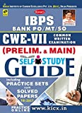 Kiran's IBPS Bank PO/MT/SO CWE - VII (Prelim. & Main) Self Study Guide Practice Work Book - 1976