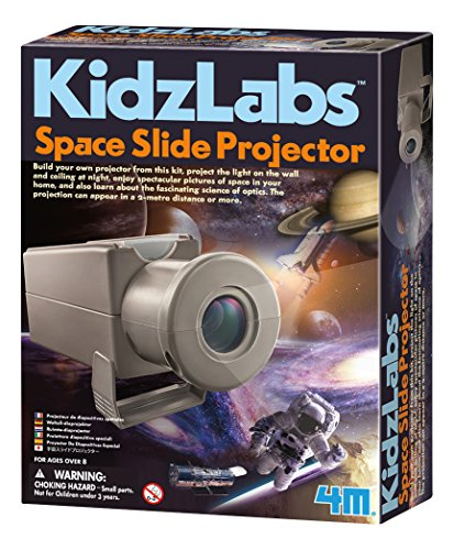 Rocket Science Star Kit (4M Space Slide Projector Hobby-Model-Spacecraft-Building-Kits)