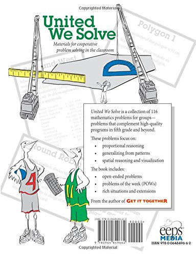 Amazon.com: United We Solve: 116 Math Problems for Groups, Grades ...