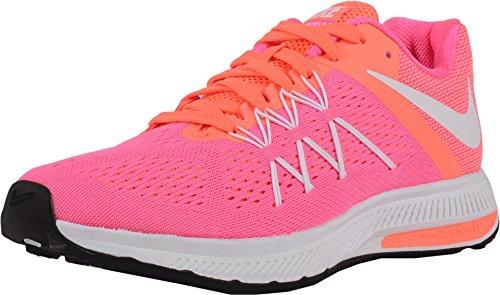 Nike Womens Wmns Zoom Winflo 3, PINK BLAST/WHITE-BRIGHT MANGO, 5 US