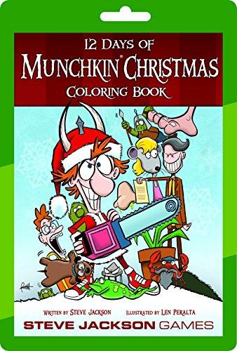 Steve Jackson Games 12 Days of Munchkin Christmas Card Game