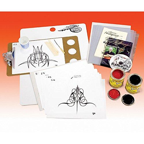 [Steve Kafka Pinstriping Pinstripe Starter Kit] (Steve Stripe)