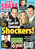 ABC Soaps In Depth Magazine September 23 2019 Maurice Benard Laura Wright Ingo Rademacher General Hospital