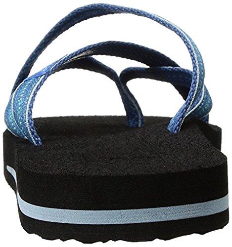 Teva Frauen Olowahu Flip-Flop Pintado-blau