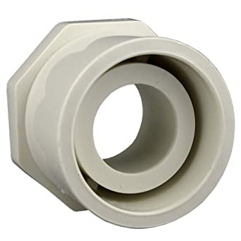 "5 Pk Genova PVC SCH 40 Pipe 2-1//2/"" SPG x 2/"" Slip Reducing Face Bushing 30292"