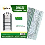 Ogrow Greenhouse Cloche Replacement Cover, 7.9 x 36.2 x 36.2-Inch