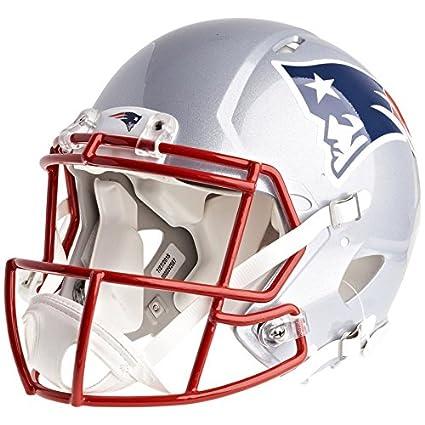 Amazon.com: New England Patriots Casco de fútbol producto ...