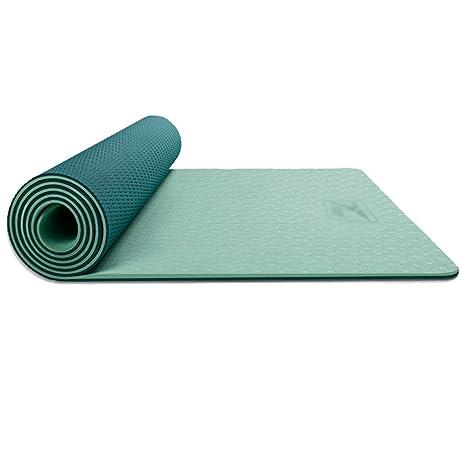 SZQ Estera de yoga de doble cara, antideslizante ...