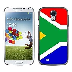 TopCaseStore / la caja del caucho duro de la cubierta de protección de la piel - Star and Stripes; - Samsung Galaxy S4 I9500