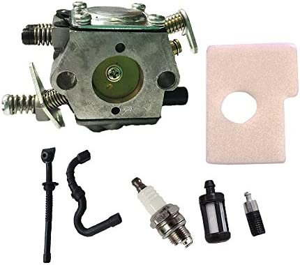 Savior Carburetor with Fuel Oil Filter Fuel Oil Line Spark Plug Air Filter  for STIHL MS170 MS180 017 018 Carb Chainsaw 1130-120-0601