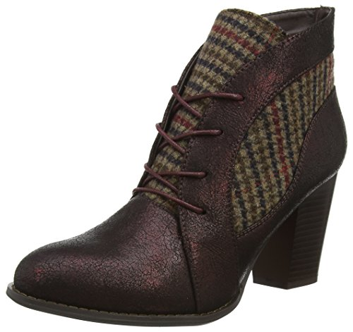 Purple Tweedy Browns Multi Ankle Boots Plum Joe WoMen Ultimate qAZHZ