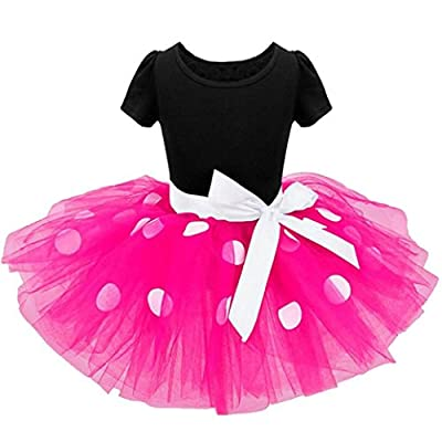 Lurryly 2018 Baby Girls Toddler Kids Clothes Pageant Party Bowknot Ball Gown Princess Red Dress
