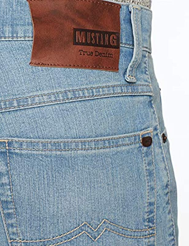 MUSTANG męskie spodnie jeansowe: Odzież