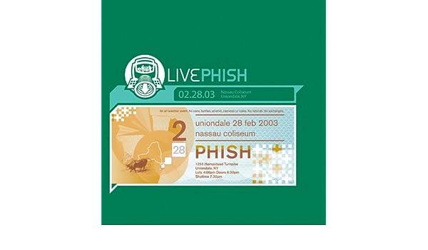 LivePhish 2/28/03 (Nassau Coliseum, Uniondale, NY) by Phish on