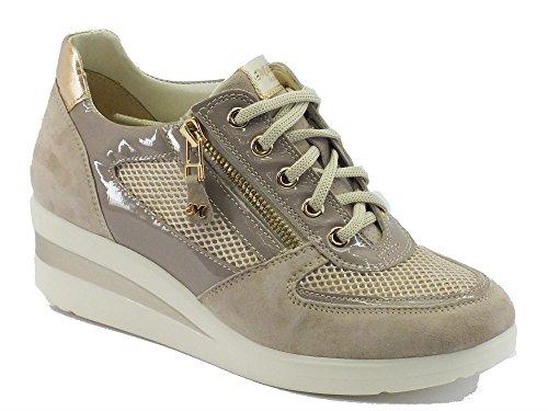 MELLUSO R2178 Corda - Zapatillas de Piel para mujer Corda