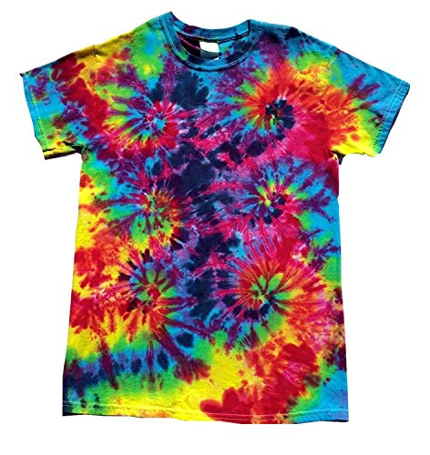BMD - Burning Man Tie Dye T Shirt by Blue Mountain Dyes...