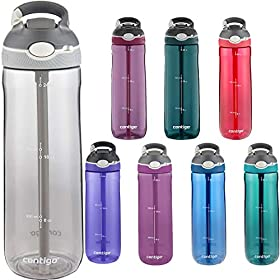 Contigo AUTOSPOUT Straw Ashland Water Bottle