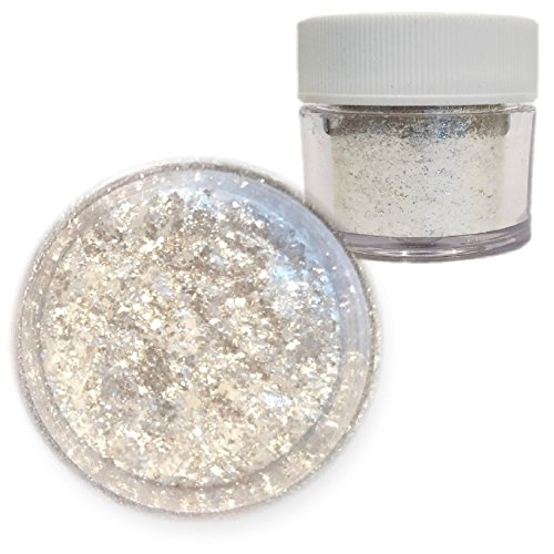 Bakell Pearl White Food Grade Tinker Dust 4g Decorating Pearl Edible Glitter by Bakell