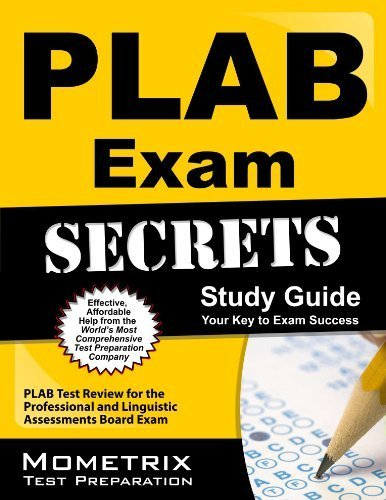 PLAB Exam Secrets Study Guide: PLAB Test Review for the Professional and Linguistic Assessments Board Exam 1 Stg Edition by PLAB Exam Secrets Test Prep Team (2013) Paperback