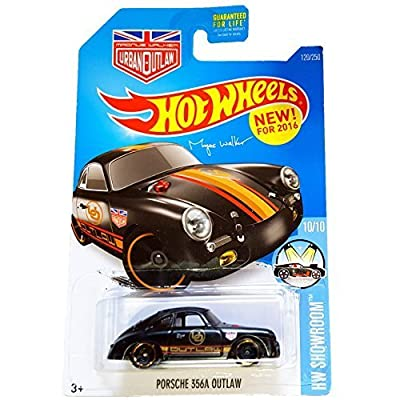 Hot Wheels, 2016HW Showroom, Magnus Walker's Porsche 356A Outlaw [Black] 120/250: Toys & Games