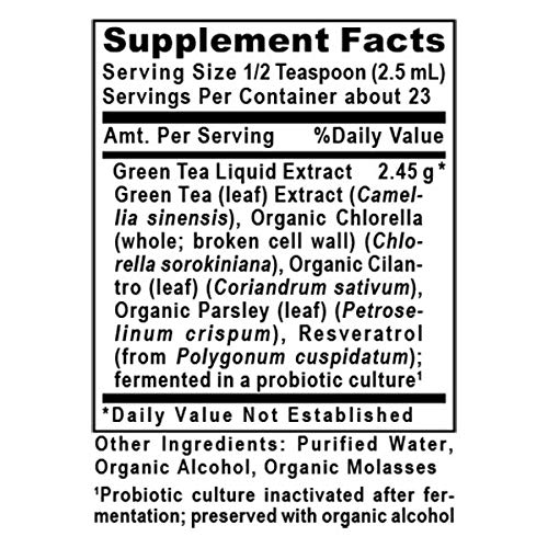 Quantum Nutrition Labs Green Tea-PG Probiotic-Fermented Premier Research Formula 6 Oz- Vegan Micro-Cultured Delivery System