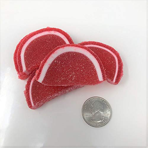Cavalier Candies Fruit Slices Raspberry flavor jelly candy 1 pound
