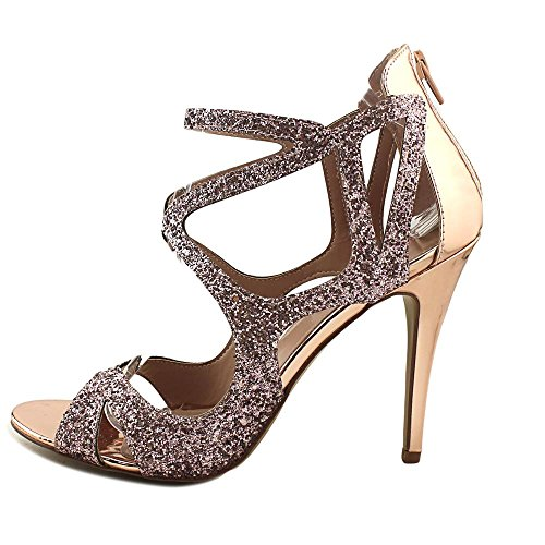Blu Di Betsey Johnson Betsey Johnson Raqui Womens Tacco Blush Glitter