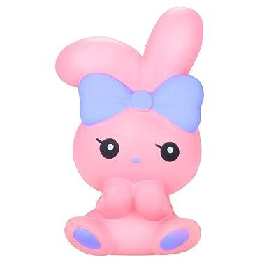 Tefamore Squishies Conejito de Dibujos Animados Lento Creciente Squishy Squeeze Toys, Regalo de